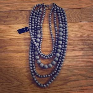 Baublebar Layered Necklace - Marbled Violet